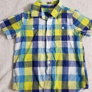 Button down collard shirt